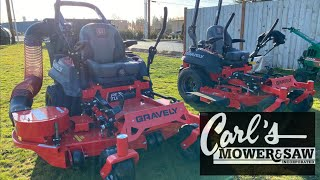 How do you operate a Gravely Zero Turn?