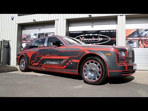 Rolls Royce Phantom Wrapped for Gumball 3000!
