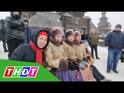 Lễ tiễn mùa Đông của người Nga | THDT