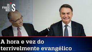 Bolsonaro afirma a ministros que indicará André Mendonça ao STF