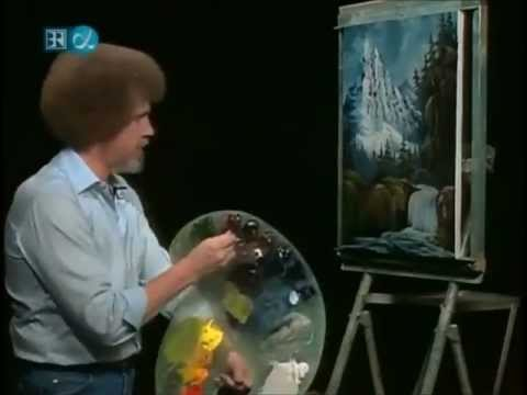 Bob Ross - Royal Majesty (speed painting)