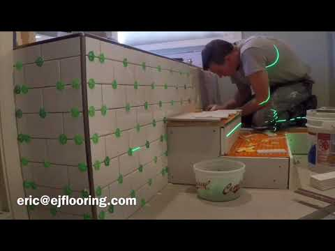 How To Tile a Jetted Tub Front and Surround with Hidden Access Panel
