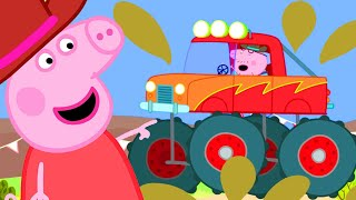 Peppa Pig Official Channel | Daddy Pig Drives a Monster Truck!