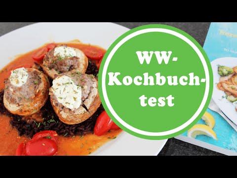 Gefüllte Champignons | Kochen für Berufstätige | Weight Watchers Sattmacher