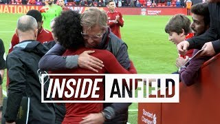 Inside Anfield: Liverpool 3-0 Southampton | Tunnel cam featuring Firmino, Salah and celebrations