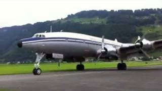 preview picture of video 'Breitling Super Constellation in Stans'