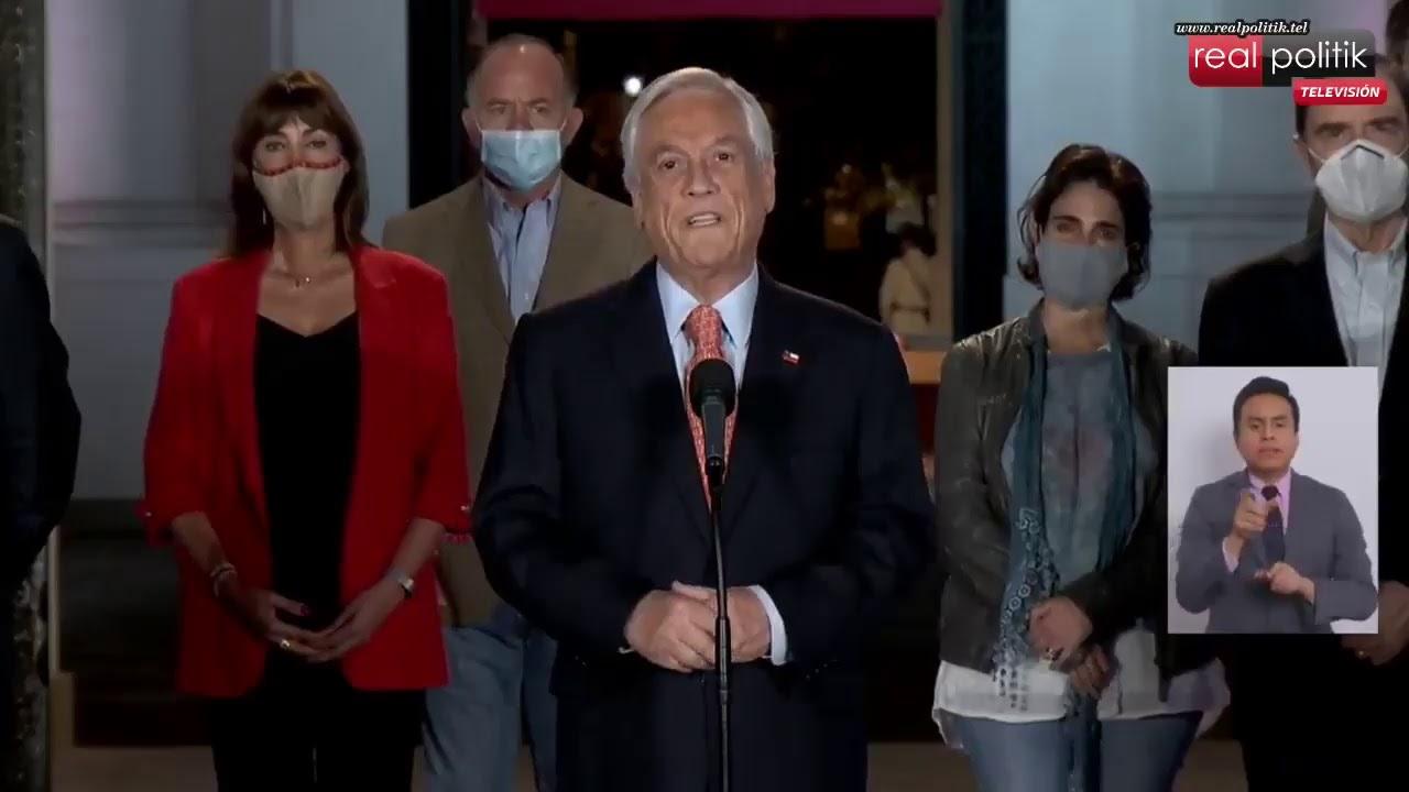 """Piñera tras los resultados del Plebiscito 2020 en Chile: """"Triunfó la ciudadanía y la democracia"""""""