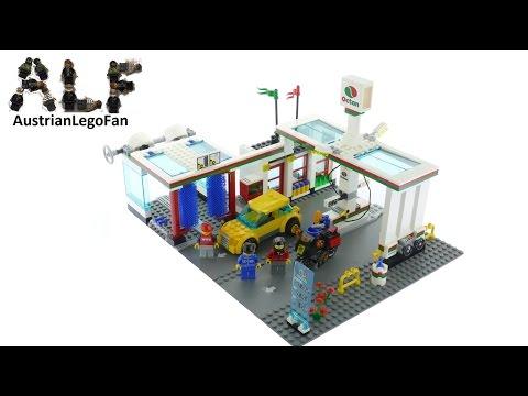 Vidéo LEGO City 7993 : La station-service