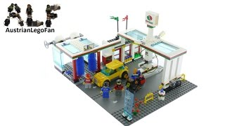 Lego City 7993 Service Station - Lego Speed Build Review