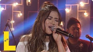 Morissette sings 'Someone's Always Saying Goodbye' on MYX Live!