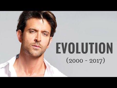 Hrithik Roshan Evolution (2000 - 2017)