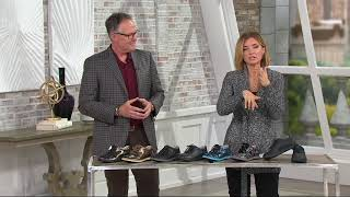 Alegria Leather Lace-up Shoes - Essence on QVC