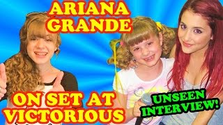 What ARIANA GRANDE Was Like THEN vs. NOW Interview at Victorious at Nick on Sunset!