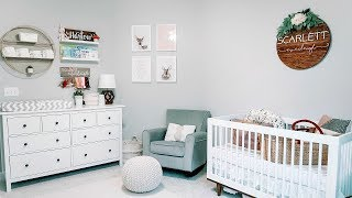 Baby Girl Nursery Tour!