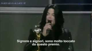Michael Jackson World Music Awards Londra 2006 Diamond Award (Sub Italiano)