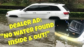 "Dealer Selling Flood Cars with ""NO Evidence of Water ANYWHERE"" Exposed!"