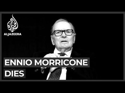 Oscar-winning Italian film composer Ennio Morricone dies