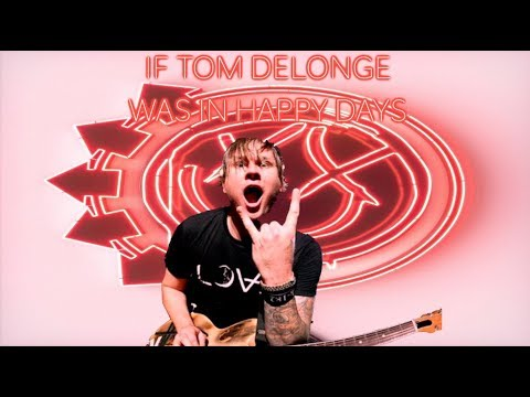 Blink-182 - Happy Days [Tom Delonge Guitar Style] (Guitar Cover)