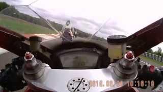 Ducati 1098 at Dijon 15.08.2015