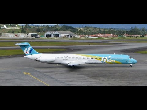 FS2004 - The Plane That Flew Too High (West Caribbean Flight 708)