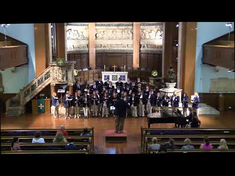 Centenary College Choir - St. Cuthbert's Church - How Lovely is Thy Dwelling Place