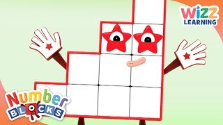 Numberblocks - Fifteen Meets Fifteen | Learn to Count | Wizz Learning