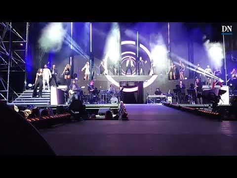 Así ha arrancado en concierto de OT en Pamplona