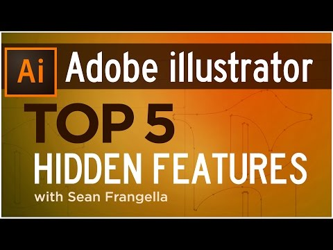 Top 5 Hidden Features of Adobe Illustrator (Illustrator Tutorial) – Sean Frangella