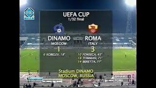Динамо Москва 1-3 Рома. Кубок УЕФА 1996/1997