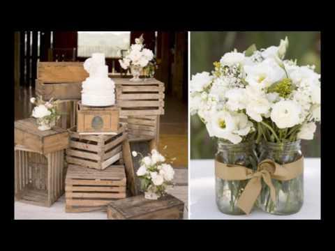 Ideas de decoración de boda vintage