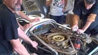 917 engine starting - 1st time in 30 years