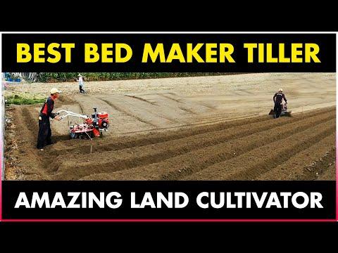 , title : 'Land Cultivator Agriculture machine | Bed Maker Machine | BEST POWER TILLER - MINI POWER TILLER