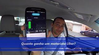 Quanto Ganha Um Motorista Uber?