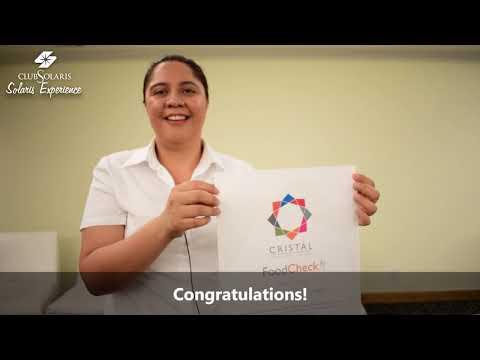 Healthy Food in Los Cabos - The Cristal Certificate in Royal Solaris ...