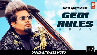 Gedi Rules ( Teaser ) | Akay | Pendu Boyz | Latest Punjabi Songs 2020 | New Punjabi Songs 2020 |