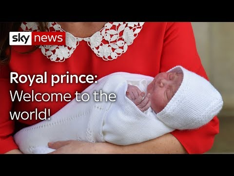 Here he is! New royal baby boy meets the world