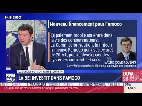 Nouveau Financement pour Famoco - BFM Business