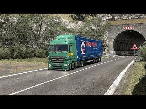 ETS2] Euro Truck Simulator 2 1 32 - Scania 4 series 164L