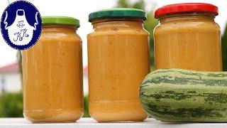 Zucchini - Brotaufstrich mit voller Anleitung auch für Anfänger /Selbstversorger Rezept