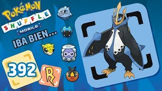 Pokémon Shuffle Mobile | EMPOLEON & Castform Hielo Puzzle (658-663) RANK S
