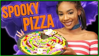 DIY Halloween DESSERT PIZZA?! Slice Slice Baby w/ Kellie Sweet