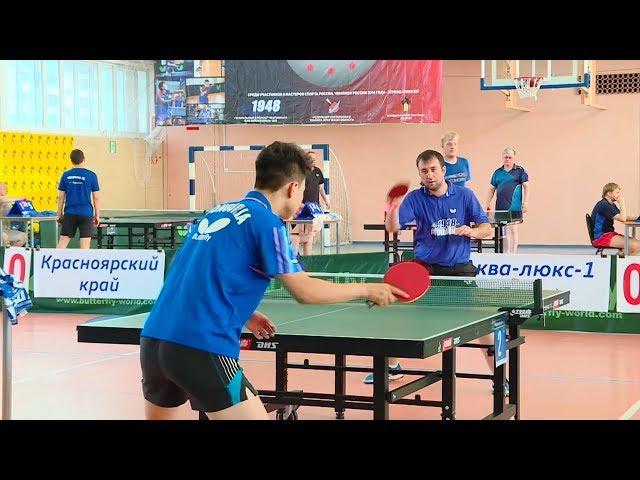 Ангарск принял областной турнир по теннису