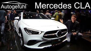 All-new Mercedes CLA REVIEW comparison CLA vs A-Class sedan vs C-Class Exterior Interior 2019 2020