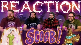 SCOOB! - Official Teaser Trailer REACTION!!