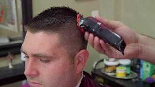 MILITARY HAIRCUT TUTORIAL 💈 Dan Leufstedt   The BarberShop Experience