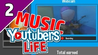 YouTubers Life Music Channel Ep 2   NEW INSTRUMENTS?!   (YouTubers Life Game Gameplay)