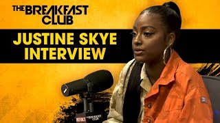 Justine Skye Opens Up About Her Domestic Violence Experience, Relationship W Kylie Jenner + More