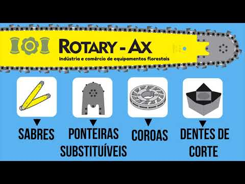 Rotary-Ax's forestry line