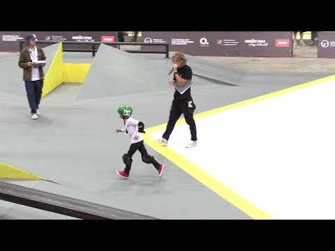 без ног на скейте - world cup skateboarding Moscow 2018 (видео)