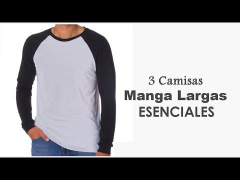 Hombres: Camisas Casuales  Manga Larga